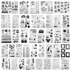 Letters Clear Silicone Stamp Transparent Seals Stamps DIY Scrapbook Album Card