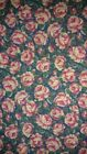 2 1 2 FULL YARDS Wamsutta Rose Floral Cotton Sew Doll Baby Quilts Clothes 10