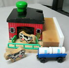 SODOR DAIRY FARM, Thomas & Friends, Wooden Railway, 2001, Complete Set