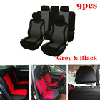 9pcs Durable Polyester 5 Seat Car Seat Cover Cushion For Interior Accessories