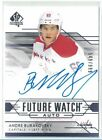 2014-15 SP Authentic Hockey Future Watch Autographs Gallery, Guide 72