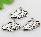 Mixed set 6 New RACE CAR HOT ROD Charms Tibet Silver Alloy TWO each FREE SHIP