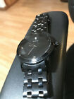 Guess Watch Black for Men Stainless Steel Band - As Is - Needs Battery