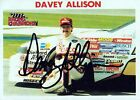 DAVEY ALLISON Signed Autographed Racing Champions Trading Card, Texaco, JSA