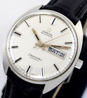 VINTAGE OMEGA SEAMASTER COSMIC AUTOMATIC DAYDATE SILVER DIAL MENS WATCH