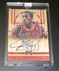 2012 Jimmy Butler RC Rookie Auto SP Panini Threads #176 On-Card Autograph! Heat