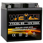 YTX30L-BS Motorcycle Battery for HARLEY-DAVIDSON FL FLH Touring 1340CC 97-'98