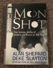 Apollo 14 First American In Space Alan Shepard Signed Autographed Moon Shot Book