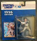 1996, Derek Jeter, Kenner, Starting Lineup (SLU), Mounted to Original Cardboard