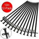 Tent Stakes Heavy Duty Camping Stakes 12 Inch 8 Inch Forged Steel Tent Pegs
