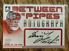 06-07 Between the pipes Dominik Hasek autograph auto