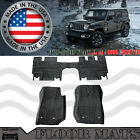 Floor Mats Replacement Carpet Kit Fit Jeep Wrangler JK JKU 07 18 4Door Unlimited