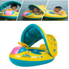 2019 Baby Swim Ring Inflatable Toddler Float Swimming Pool Water Seat Canopy