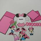Minnie Mouse 17 piece Cricut Made Die Cut Set for Scrapbooking in PINK