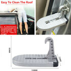 1x Silver Foldable Car Door Latch Hook Step Foot Pedal Ladder For Ute SUV Truck