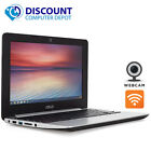 Asus C200 116 Chromebook Computer Intel 24GHz 16GB SSD Bluetooth Wifi Webcam