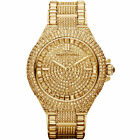 Michael Kors Camille Gold Pave Dial Crystal Encrusted MK5720 Women's Watch