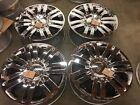 LINCOLN NAVIGATOR Mark LT 20 Chrome OEM FACTORY WHEELs w Caps 2006 2018 Rims