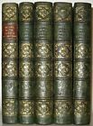 LEATHER Set;FRENCH REVOLUTION! (1838 FIRST EDITION!) History Napoleon RARE! Gift