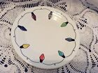 LUNCHEON PLATE christmas lights string of lights NEW FIESTA 9