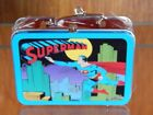 Superman Lunch box Christmas Ornament Metal 1998 Super Cool! in Box