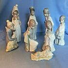 Lladro Porcelain Christmas Nativity 8 Pc CHILD Figurines Discontinued