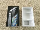 Apple Iphone 4 Empty Box Only MD146LL A 8GB Black No Phone Box Only No Inserts
