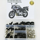 For Yamaha FZ1 FZS1000 Fazer 2008-2016 Steel Complete Fairing Body Screws Kit
