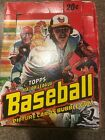 1978 Topps Wax Box 18 Packs 1979 Missed Wrapped