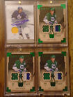 2012-14 U D ARTIFACTS, RON FRANCIS, SILVER EMERALD AUTO GAME WORN, CARDS # 01 12