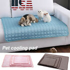 Pet Cooling Mat Cool Pad Comfortable Cushion Bed for Dog Cat Puppy US