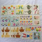 Mrs Grossmans  Creative Memories Stickers Vintage Easter And Spring 29 Sheets