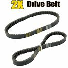 2X Black Drive Belt 669 18 30 for GY6 49CC 50CC Scooter