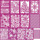 Merry Christmas Rectangle Frame Metal Cutting Dies Stencils For DIY Scrapbooking