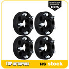 4Pcs 15 5x5 Hubcentric Wheel Spacers For Jeep JK Wrangler Grand Cherokee Black