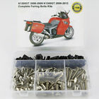 For BMW K1200GT 2006-2009 K1300GT 2009-2013 Complete Fairing Bolt Body Screw Kit