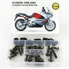 For 1996-2005 BMW K1200RS Steel Complete Fairing Bolts Body Screws Fasteners Kit