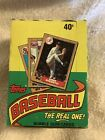 1987 Topps Baseball Wax Pack Box - 36 Count