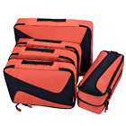 6 Set Packing Cubes 3 Various Sizes Luggage Packing Organizers For Travel