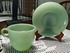 Fire King Jadeite Vintage Collectible 1940-50s Great condition Cup/ Saucer Set