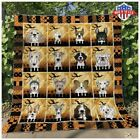 Dogs Collection Haloween Quilt 100 Poly Cotton Quilt 5 Sizes US Supplier LIMIT