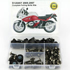 Complete Fairing Bolts Kit Bodywork Screw Nuts For BMW R1200ST 2005-2007 2006