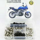 Complete Fairing Bolts Bodywork Screws Kit For Kawasaki Versys 650 2006-2009