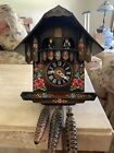 Fully Functioning Cuckoo Clock Handpainted - Made In Germany