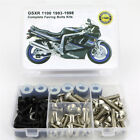 For Suzuki GSX-R1100 1993-1998 Complete Fairing Bodywork Bolts Fasteners Kit