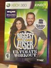 GREAT Biggest Loser Ultimate Workout Xbox 360 Kinect Fitness Game