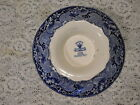 MASONS VISTA BLUE FOOTED BOWL OR COMPOTE