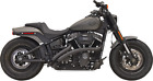 Bassani Radial Sweepers Exhaust Black HARLEY BREAKOUT LOW RIDER FAT BOB STREET