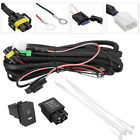 H11 Fog Light Wiring Harness LED indicator Switch Relay for Ford Focus Infiniti