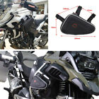 1Pcs Motorcycle Saddle Frame Storage Bag Engine Guard Mount Triangle Tool Pouch